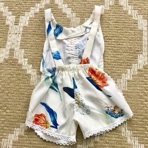 Bottoms - Toddler floral romper